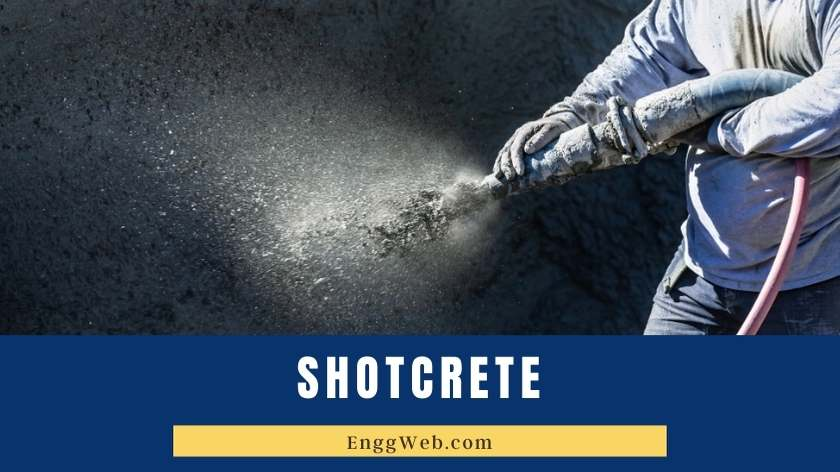Shotcrete Spraying