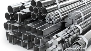 stainless steel metal bars and pipes