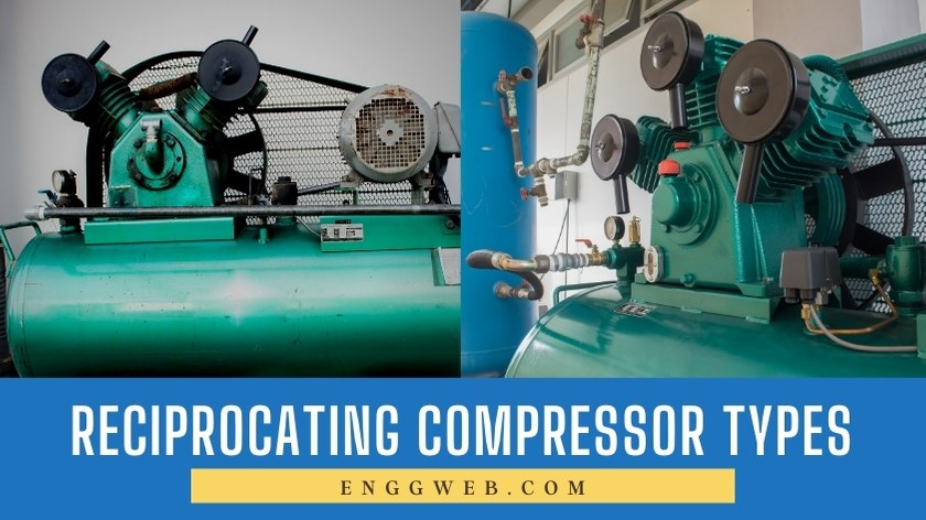 Types of Reciprocating Compressors
